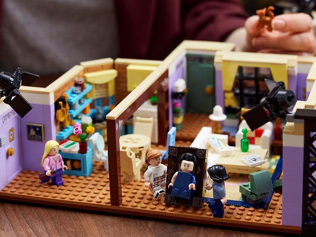 Apartamentos de Friends Lego