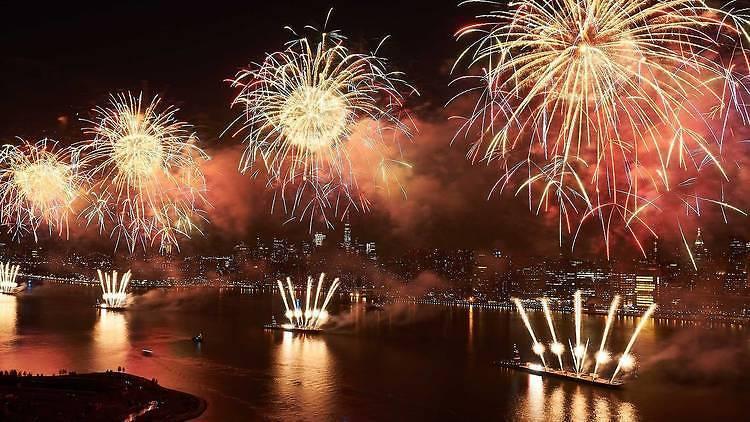 Macy's July 4 fireworks