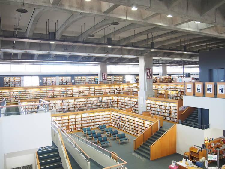 Tokamachi City Library, Niigata