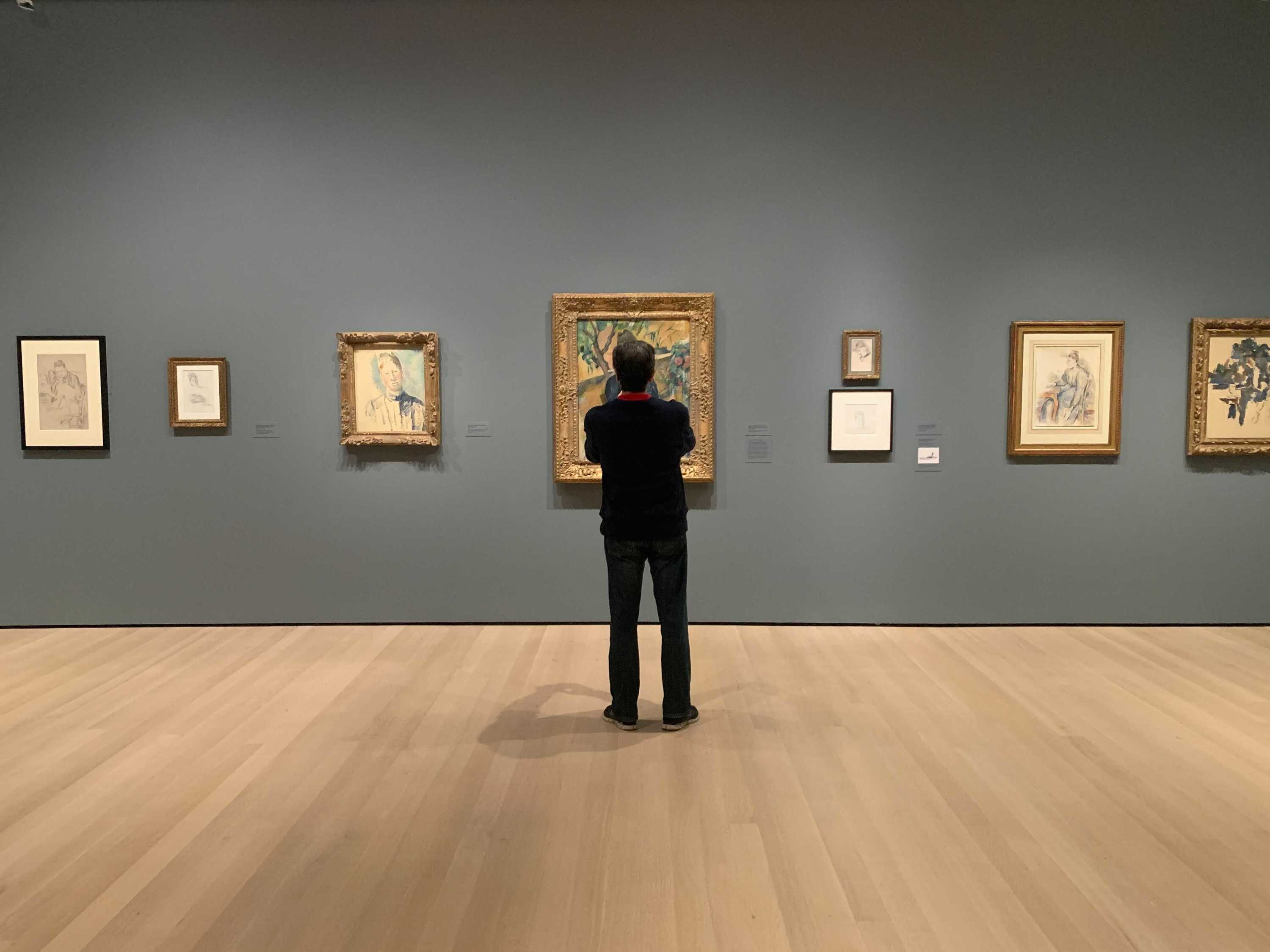 Cezanne Drawing exhibit at Moma