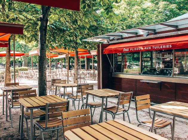 Dans le Jardin des Tuileries, un ancien kiosque se transforme en super resto de 240 places