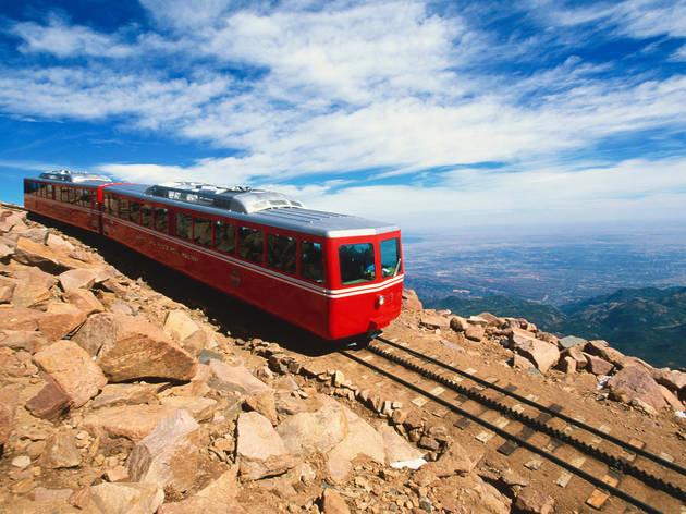 Pikes Peak Cog Railway, Colorado