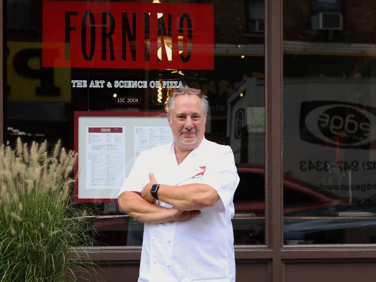 Fornino's popular pizza is now available at the top of Brooklyn Bridge Park