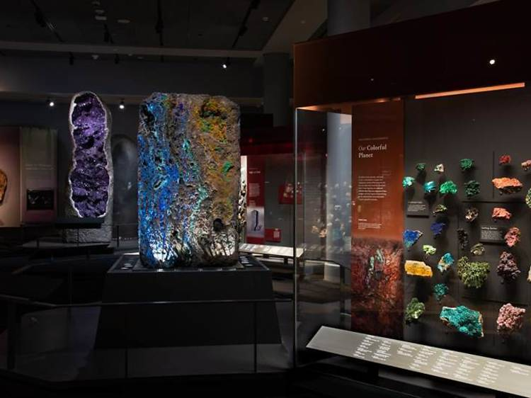 Be dazzled by the new Halls of Gems and Minerals at AMNH