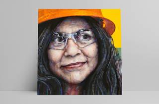 Veena Sahajwalla by Sally Robinson, Salon des Refusés 2021