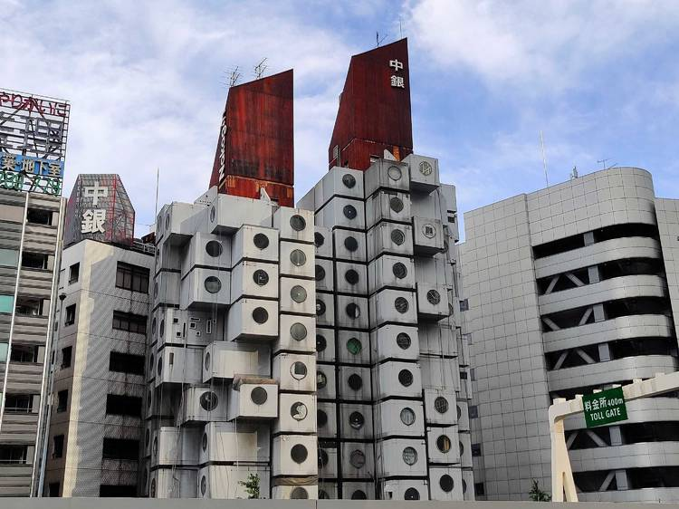 Nakagin Capsule Tower tour or stay