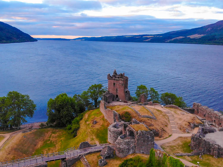 Search for the mysterious monster at Loch Ness
