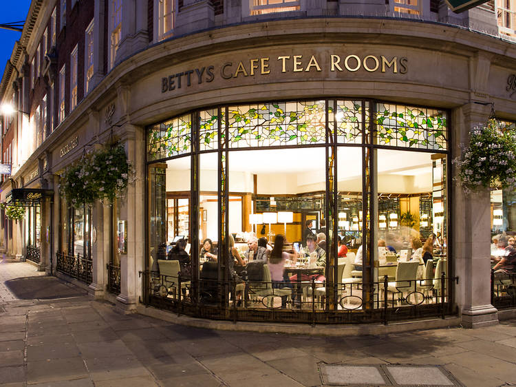 Have afternoon tea at Bettys in York