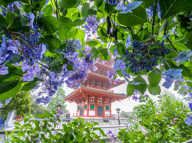 genki/PIXTA | Takahata Fudoson Temple