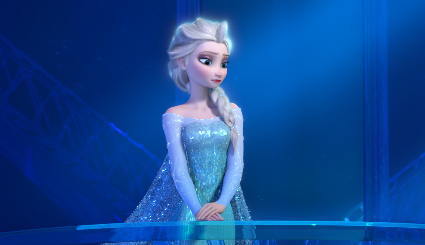 """""""FROZEN"""" (Pictured) ELSA. 2013 Disney. All Rights Reserved."""