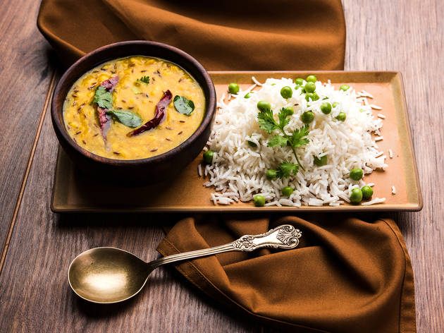 Dal and rice