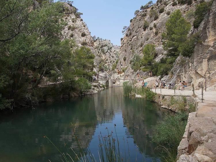 La Font Calda, (Gandesa, Tarragona)