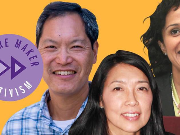 Manjusha P. Kulkarni, Cynthia Choi and Russell Jeung