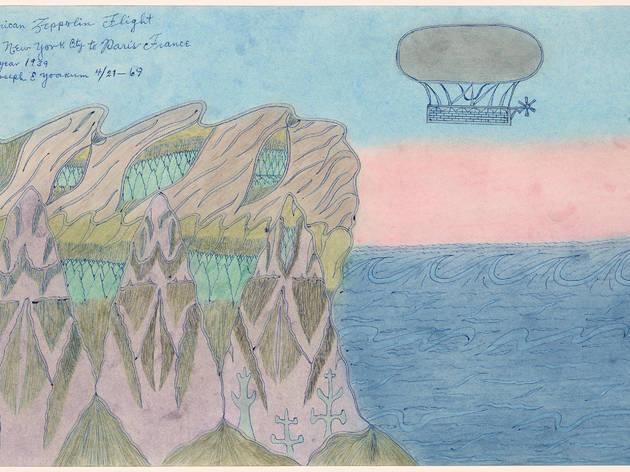 Joseph E. Yoakum. American Zeppolin Flight from New York City to Paris France in Year 1939, 1969.