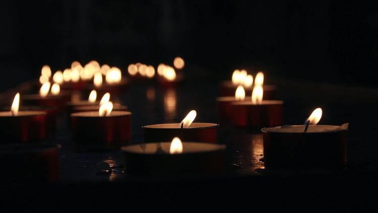 luz das velas