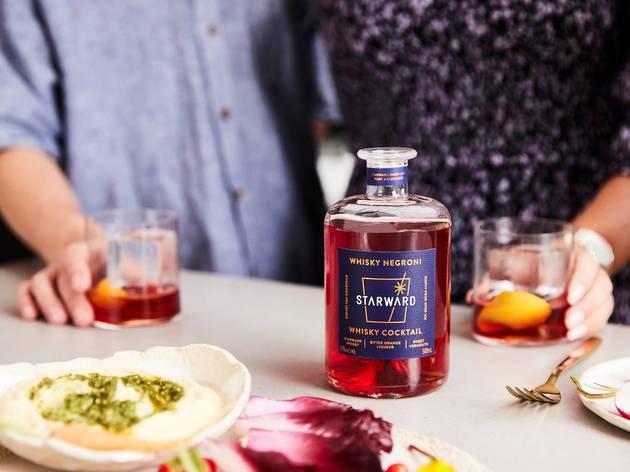 Starward Whisky's Whisky Negroni