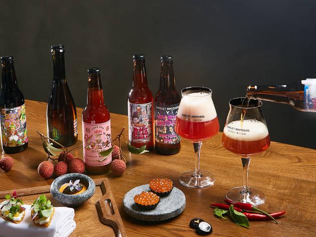 Roganic x Yardley Brothers one-night-only beer pairing menu