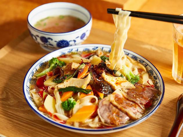ザムザムの泉『涼麺』