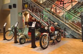 Exposición de motos históricas
