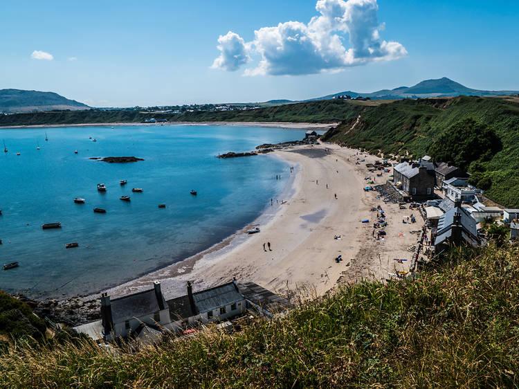 Morfa Nefyn Beach, Gwynedd, Wales