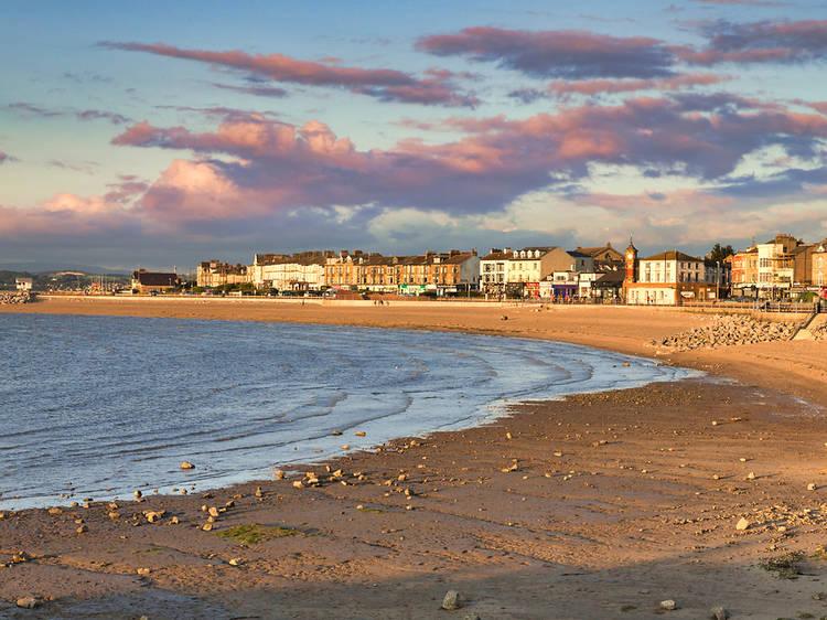 Morecambe Beach, Lancashire