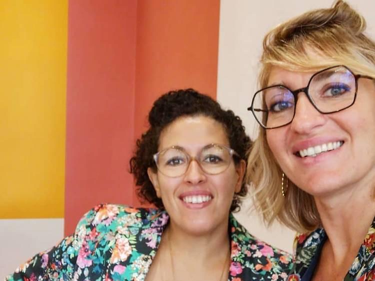 Bouchra Zahar et Delphine Marleix (Marza)