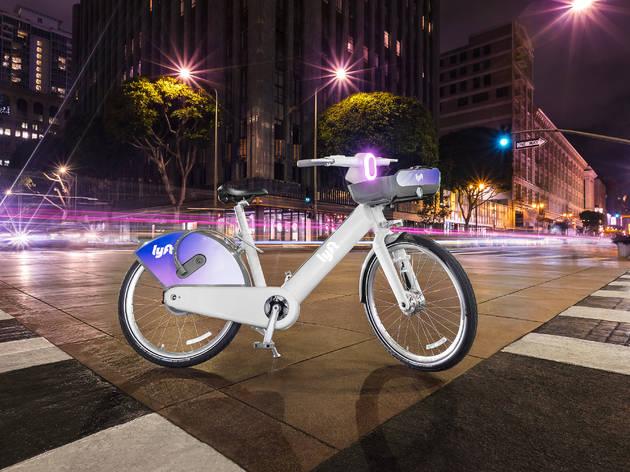 new Lyft e-bike