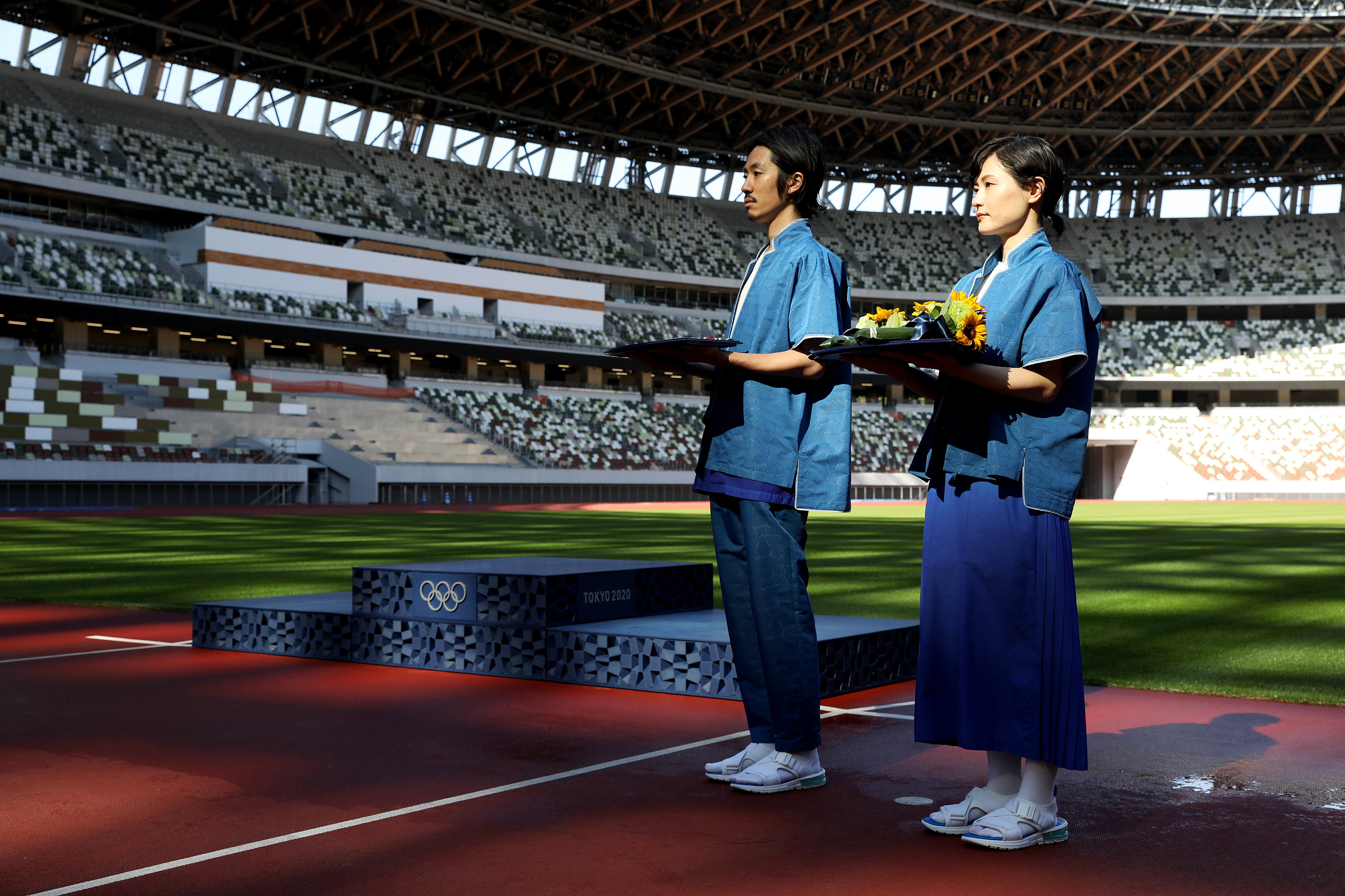 Tokyo Olympic costumes