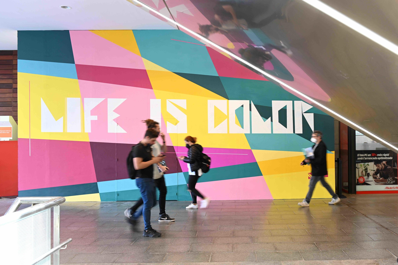 La Maquinista, Urban Walls