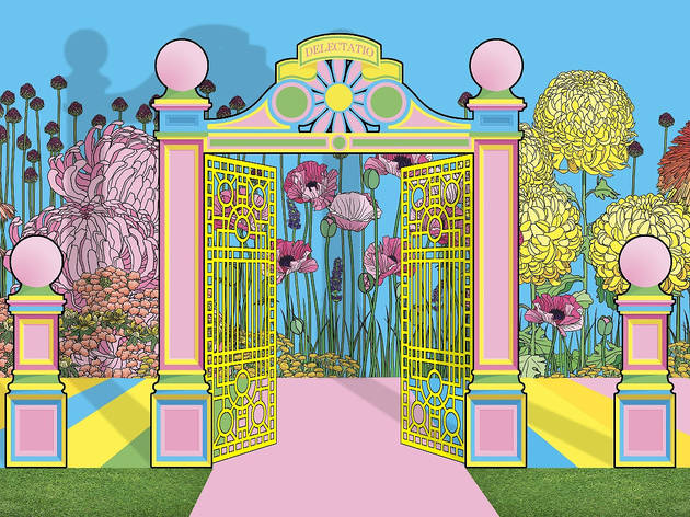 Artists Baker and Borowski will take over a section of Warwick Road with an installation based on Victorian Pleasure Gardens