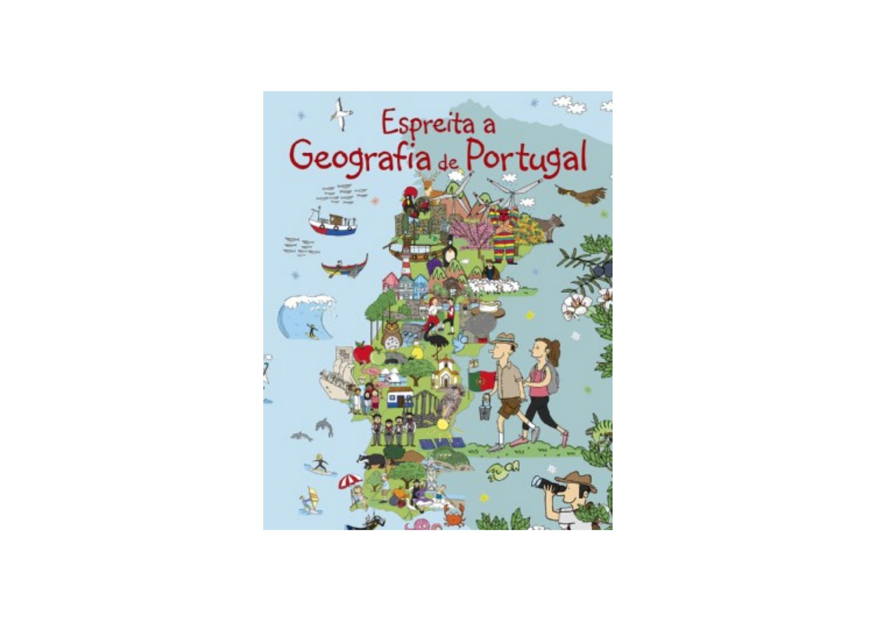 Espreita a Geografia de Portugal, de Vera Ribeiro