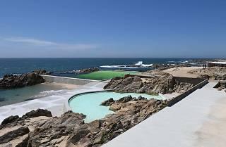 Piscina das Marés de Álvaro Siza, em Leça da Palmeira