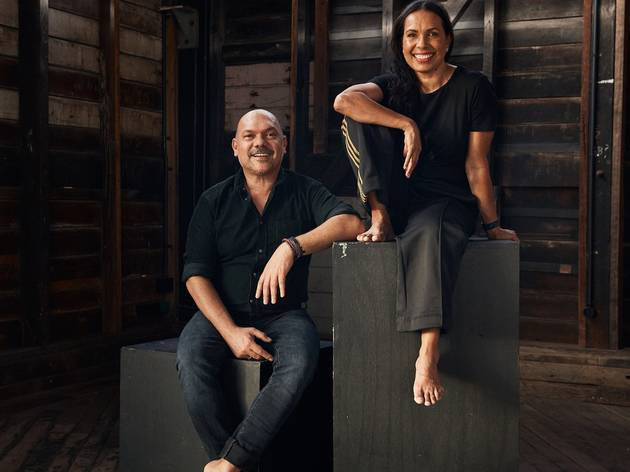 Stephen Page and Frances Rings, of Bangarra Dance Theatre