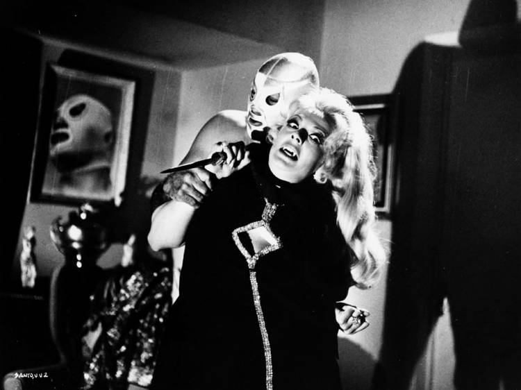 El Santo y las mujeres vampiro (1962)