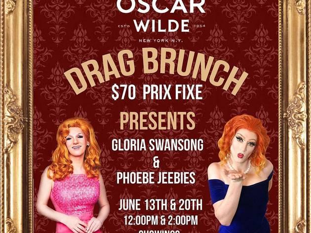 Oscar Wilde drag brunch