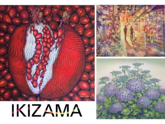 IKIZAMAアートイベント アート×音楽