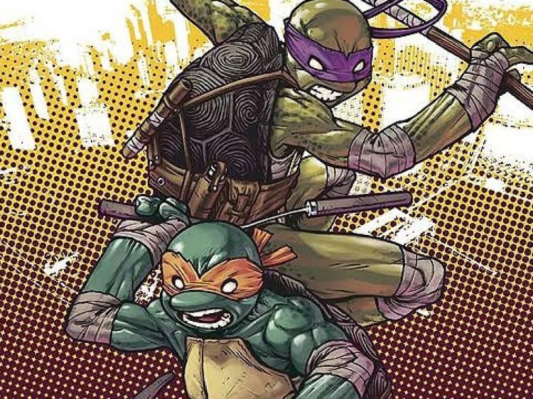 Tortugas ninja, la caída de la ciudad