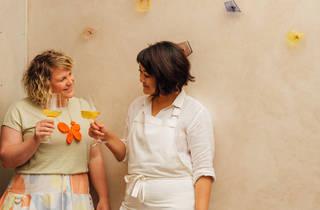 Hannah Green and Rosheen Kaul (Photograph: Annika Kafcaloudis)