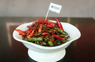 Qi Nine Dragons fried string beans ($130)