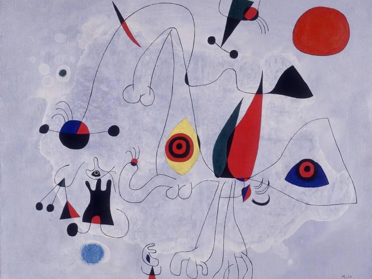 'Un cuerpo como un universo', Fundació Joan Miró