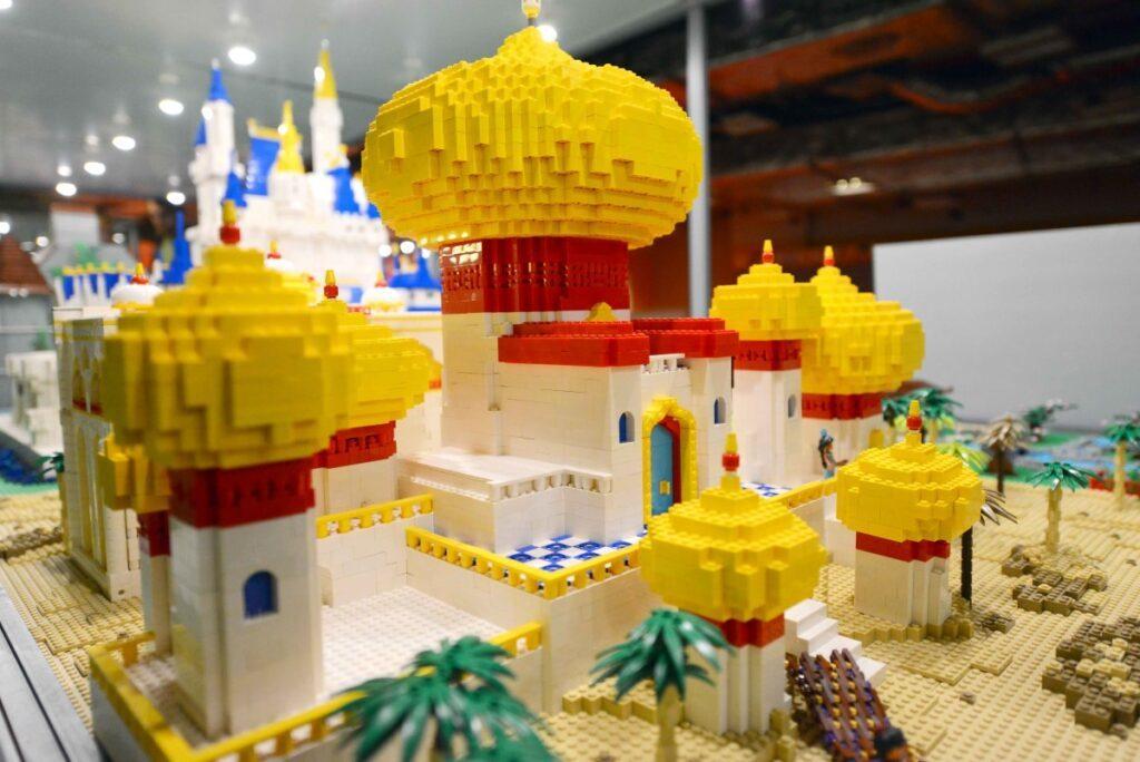 A maior exposição europeia de modelos feitos com peças Lego®
