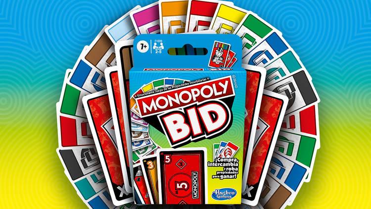 Juego Monopoly Bid