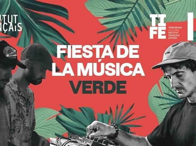Fiesta de la música verde (Instituto Francés)