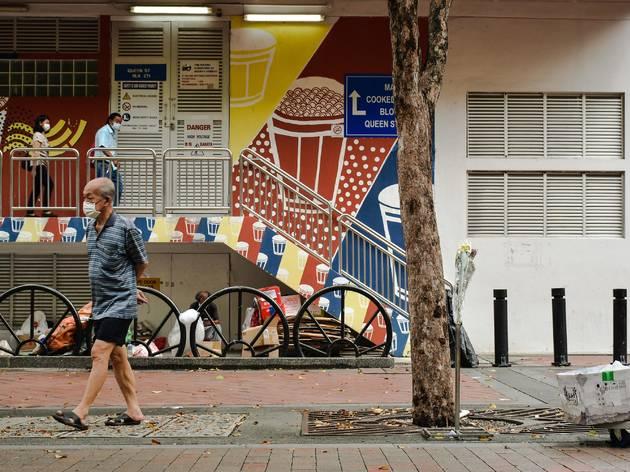 social distancing singapore