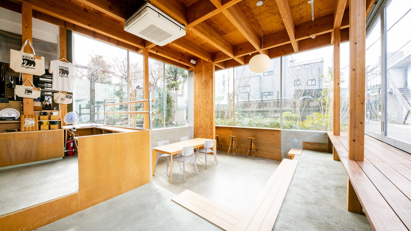 ヒグマドーナッツ×コーヒーライツ(Photo: Keisuke Tanigawa)