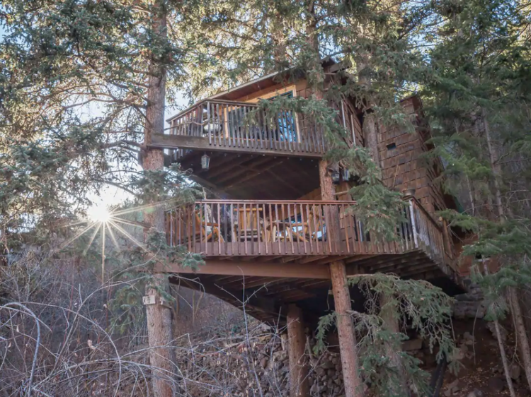 The rocky mountain treehouse   Carbondale, CO