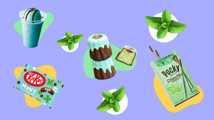 Mint chocolate top image