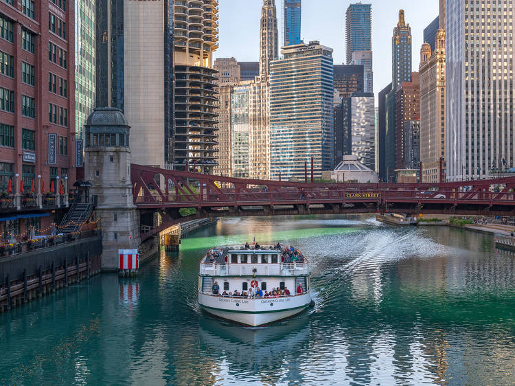 The Chicago Architecture Foundation Center River Cruise