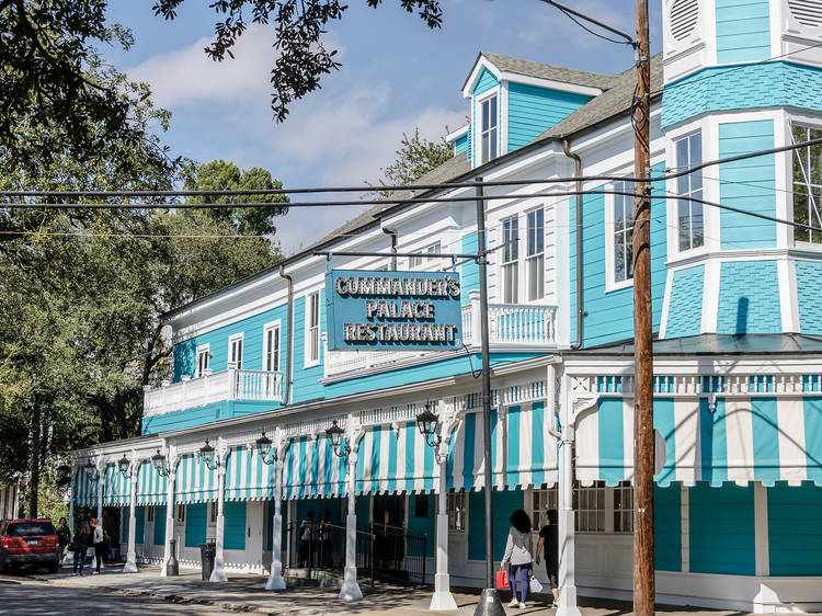 The most famous restaurants in New Orleans