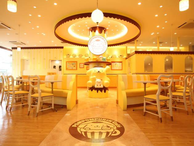 Pompompurin Cafe Harajuku